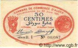 50 Centimes ALGER ALGÉRIE  1921 JP.137.19