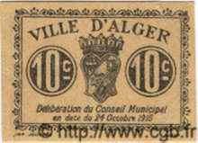 10 Centimes ALGÉRIE  1917  pr.NEUF