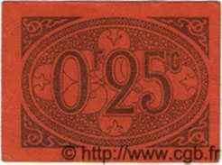 25 Centimes ALGÉRIE Alger 1917  TTB+