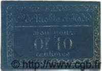 Bon Pour 10 Centimes ALGÉRIE  1917  SUP