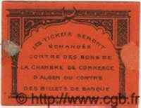 Bon Pour 25 Centimes ALGÉRIE  1915  TTB