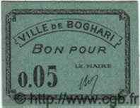 Bon Pour 5 Centimes BOGHARI ALGÉRIE  1915 JPCV.01 NEUF