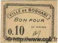 Bon Pour 10 Centimes BOGHARI ALGÉRIE  1915 JPCV.02