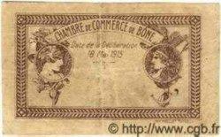 50 Centimes ALGÉRIE Bône 1915 JP.01 TB+