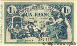 1 Franc ALGÉRIE Bône 1918 JP.06 SPL