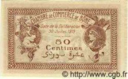 50 Centimes ALGÉRIE Bône 1919 JP.07 NEUF