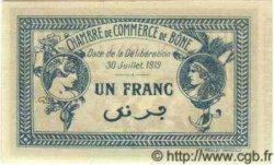 1 Franc ALGÉRIE  1919 JP.08 NEUF