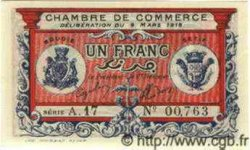 1 Franc ALGÉRIE Bougie - Sétif 1918 JP.05 NEUF