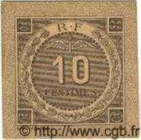 10 Centimes ALGÉRIE  1916 JP.10 NEUF