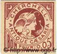 5 Centimes ALGÉRIE Cherchell 1915  NEUF
