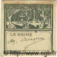 Bon Pour 10 Centimes ALGÉRIE  1915  TTB+