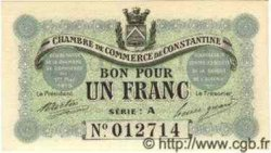 1 Franc ALGÉRIE Constantine 1915 JP.02 NEUF