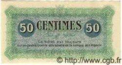 50 Centimes ALGÉRIE  1915 JP.03 NEUF