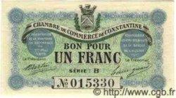 1 Franc ALGÉRIE  1915 JP.04 NEUF