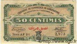 50 Centimes ALGÉRIE  1916 JP.06 pr.SUP
