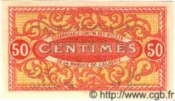 50 Centimes ALGÉRIE  1920 JP.17 NEUF