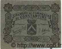 Bon Pour 5 Centimes ALGÉRIE  1915 JP.40 NEUF