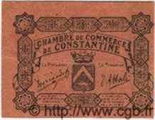 Bon Pour 10 Centimes ALGÉRIE  1915 JP.41 SUP