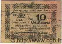 10 Centimes ALGÉRIE Douéra 1916  TTB+