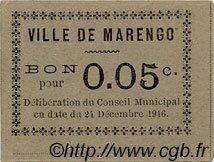 Bon Pour 5 Centimes MARENGO ALGÉRIE  1916 JPCV.02 TTB