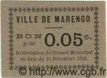 Bon Pour 5 Centimes MARENGO ALGÉRIE  1916 JPCV.02 NEUF