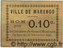 Bon Pour 10 Centimes ALGÉRIE  1916  TTB