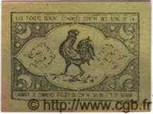 Bon Pour 10 Centimes ALGÉRIE  1916