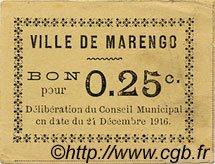 Bon Pour 25 Centimes ALGÉRIE  1916  TTB+