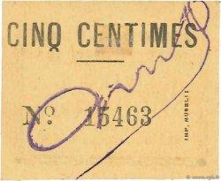 5 Centimes ALGÉRIE Mascara 1915 JPCV.01 SPL