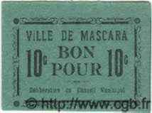 10 Centimes ALGÉRIE Mascara 1915  SPL