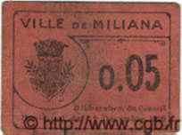 Tiket Monnaie 5 Centimes ALGÉRIE  1916  TB+