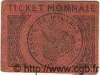 5 Centimes ALGÉRIE Miliana 1916  TB+