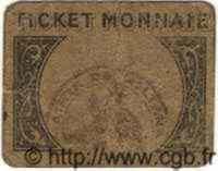 Tiket Monnaie 10 Centimes ALGÉRIE  1916  B+