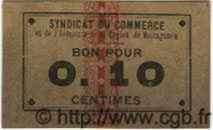 10 Centimes MOSTAGANEM ALGÉRIE  1915 JPCV.02 pr.SUP
