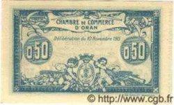 50 Centimes ALGÉRIE Oran 1915 JP.141.04 NEUF