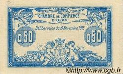 50 Centimes ORAN ALGÉRIE  1915 JP.141.04 SPL