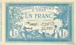 1 Franc ALGÉRIE Oran 1915 JP.141.08 NEUF