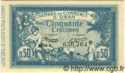 50 Centimes ORAN ALGÉRIE  1918 JP.141.19