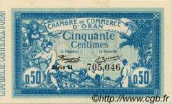 50 Centimes ALGÉRIE Oran 1918 JP.141.19 SUP+