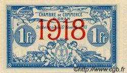 1 Franc ORAN ALGÉRIE  1918 JP.141.20 NEUF