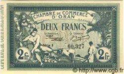 2 Francs ALGÉRIE Oran 1918 JP.09 NEUF