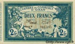 2 Francs ALGÉRIE Oran 1918 JP.09 SPL