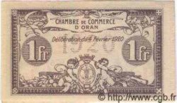 1 Franc ALGÉRIE  1920 JP.11 pr.NEUF
