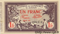 1 Franc ORAN ALGÉRIE  1920 JP.141.23 NEUF