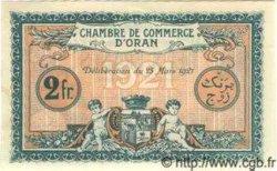2 Francs ALGÉRIE Oran 1921 JP.15 pr.NEUF