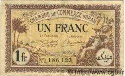 1 Franc ALGÉRIE  1922 JP.17 TB à TTB