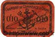10 Centimes ALGÉRIE  1916 JP.29 NEUF