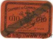 10 Centimes ALGÉRIE Oran 1920 JP.39 NEUF