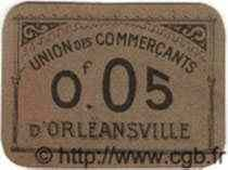 5 Centimes ORLEANSVILLE ALGÉRIE  1915 JPCV.10 pr.NEUF