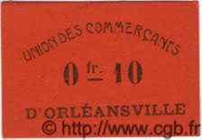 10 Centimes ORLEANSVILLE ALGÉRIE  1915 JPCV.04 pr.NEUF
